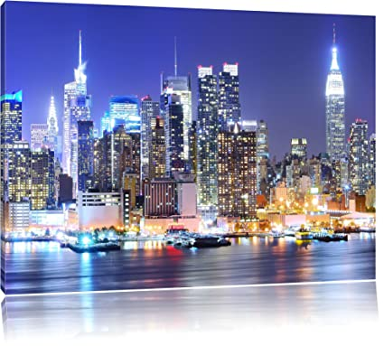 New York City skyline di ponte di notte 230bfe8a464