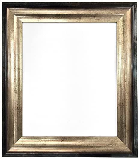 Frames By Post Firenza Antique Distressed Black And Gold Picture