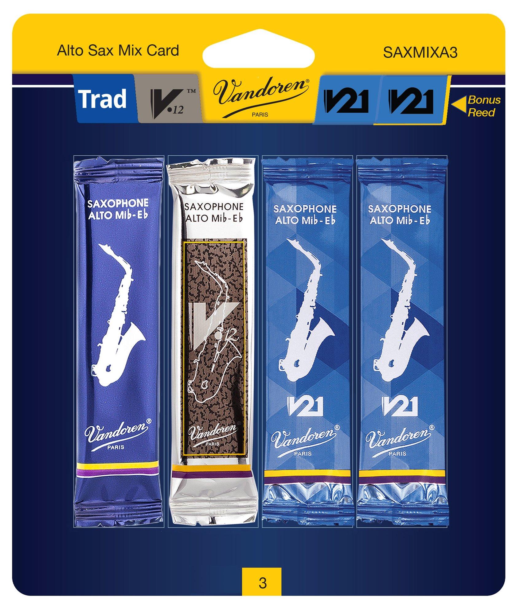 Vandoren SAXMIXA3 Alto Saxophone Mix Card 3