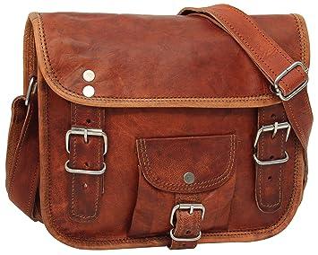 """724793f4ce Cartable en cuir - Gusti Cuir nature """"Emilia 7"""" sac à bandoulière vintage  sac"""