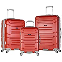 Deals on Olympia Denmark 3 Piece Luggage Set