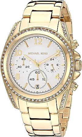 Michael Kors Blair Chronograph Stainless Steel Watch