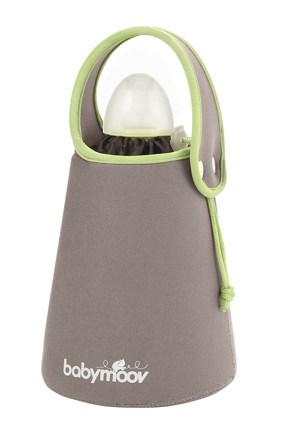 Babymoov Almond Travel Bottle Warmer (Brown/Taupe) A002101