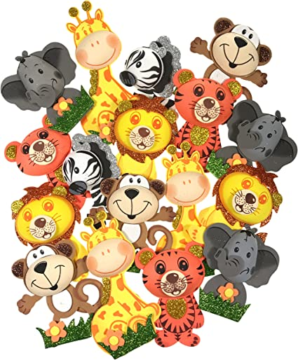 Amazon.com: Animales de la selva en el zoológico ...