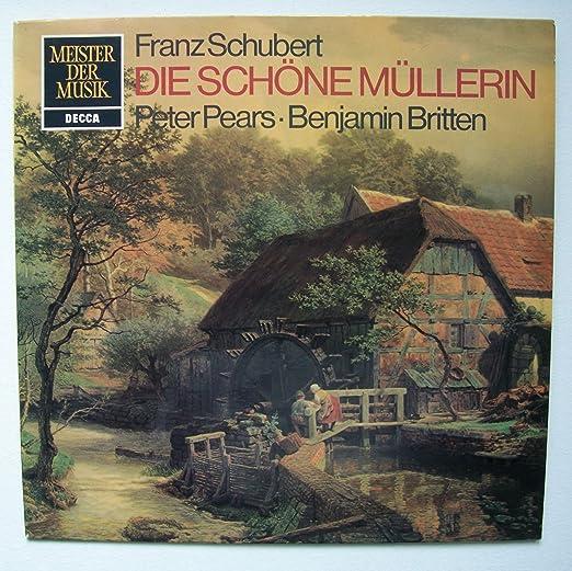 Die schöne Müllerin. Peter Pears, Benjamin Britten Stereo