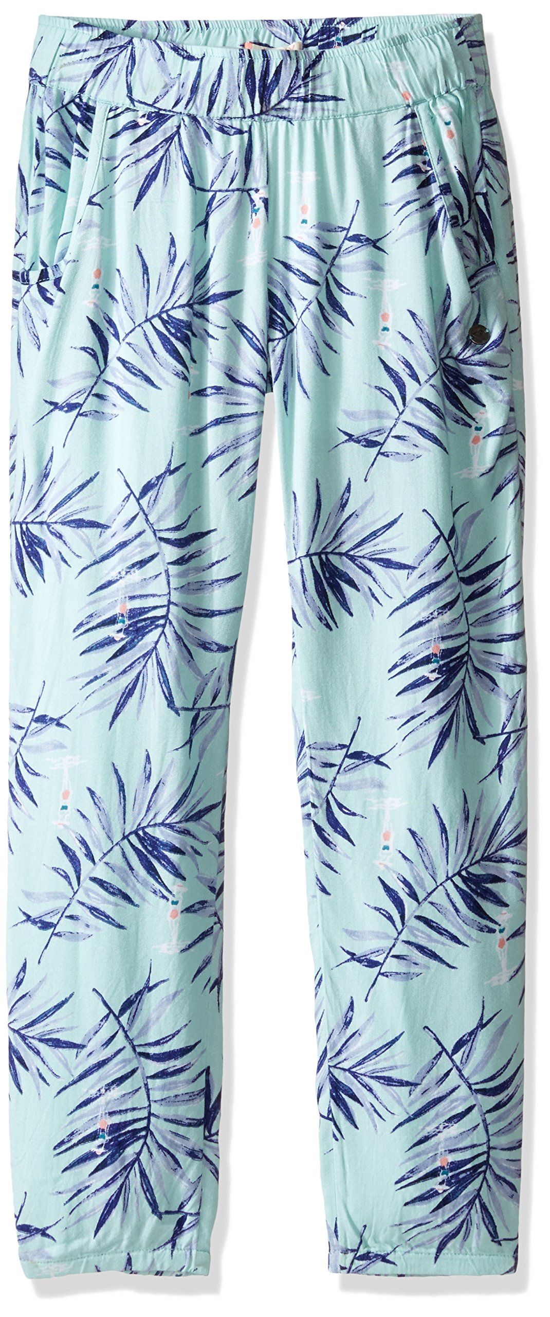 Roxy Big Girls' Wanna Go Holiday Pant, Beach Glass La Croisette, 8