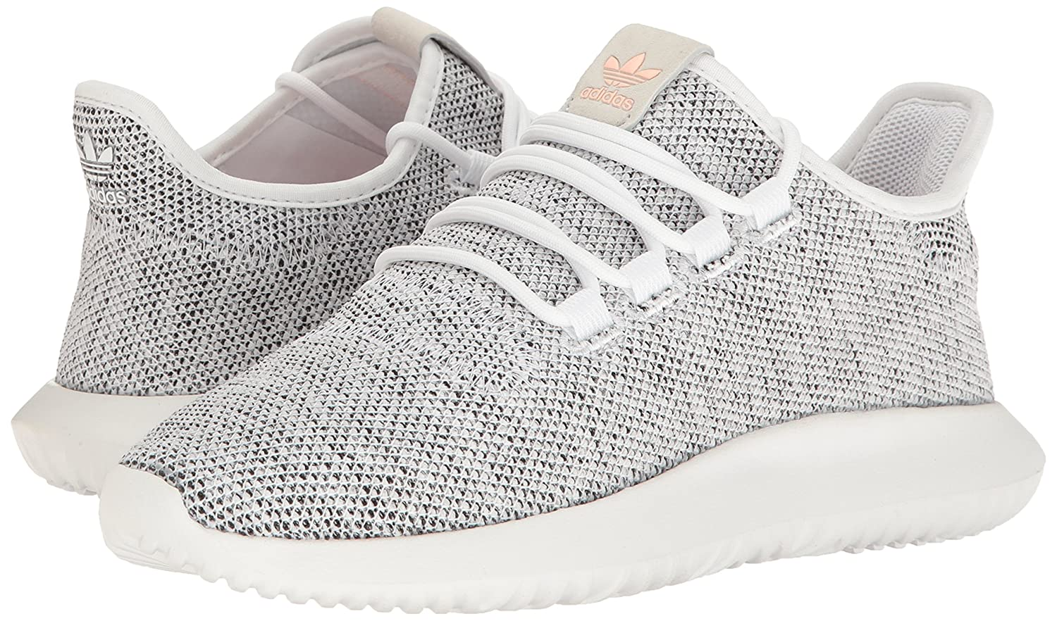 adidas Originals Women's Tubular B01LX0GGYS Shadow W Fashion Sneaker B01LX0GGYS Tubular 5.5 M US|White/Pearl Grey/Haze Coral fafb05