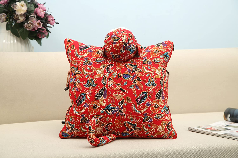 yiduyia Ornamental Pillow/Kids Pillow Back Cushions and Sofa Pillows,Monkey Throw Pillow,Quilt