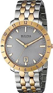 Bulova Accutron II Moonview Two-Tone Grey Dial Watch