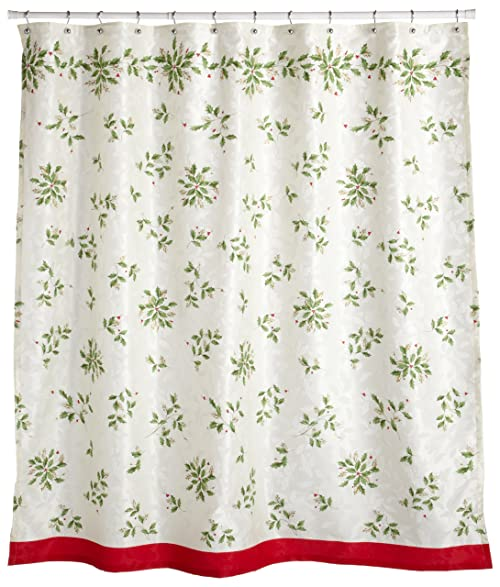 Marvelous Lenox Holiday Shower Curtain