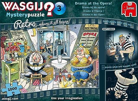 Puzzle Wasgij Retrò MISTERO 3 Dramma all/'opera 1000 pezzi