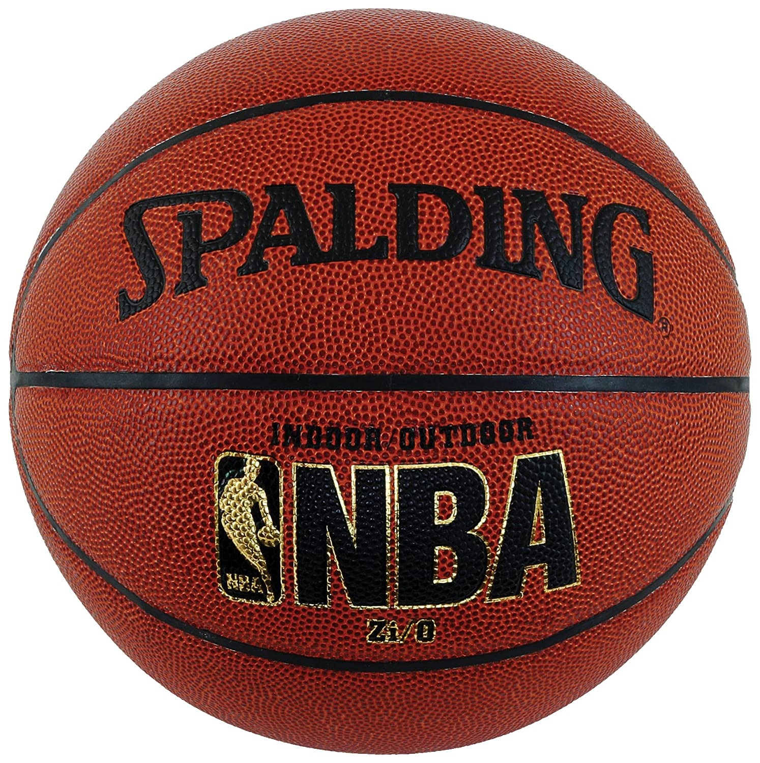 Spalding NBA Zi/O Indoor/Outdoor Basketball – Official Size 7