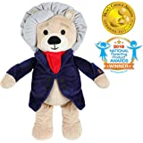 Vosego Ludwig van Beethoven Virtuoso Bear | 40 mins Classical Music for Babies | 15″ Award Winning Musical Soft Toy | Educational Toy | Perfect Gift for Infants Kids Adults