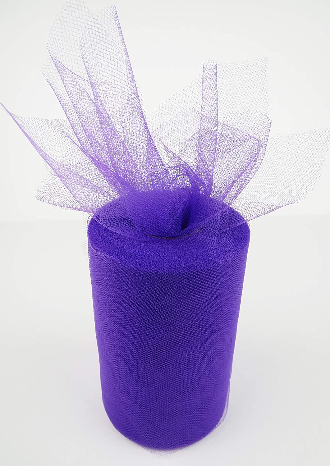 Blue Parties Weddings Tulle Roll 6 by 100 Yards 100/% Polyester Great for Birthdays