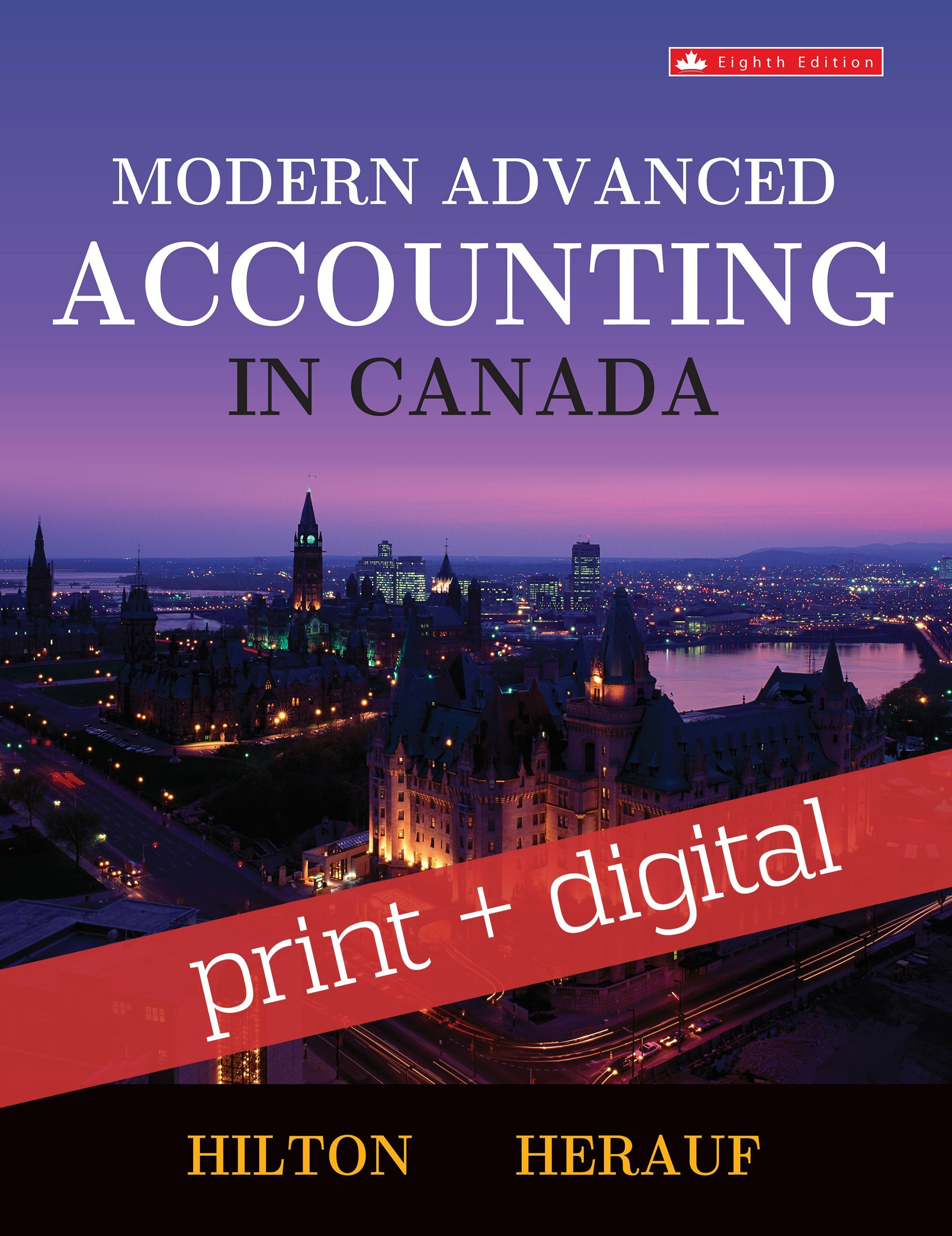 Modern advanced accounting in canada, fifth edition by murray.