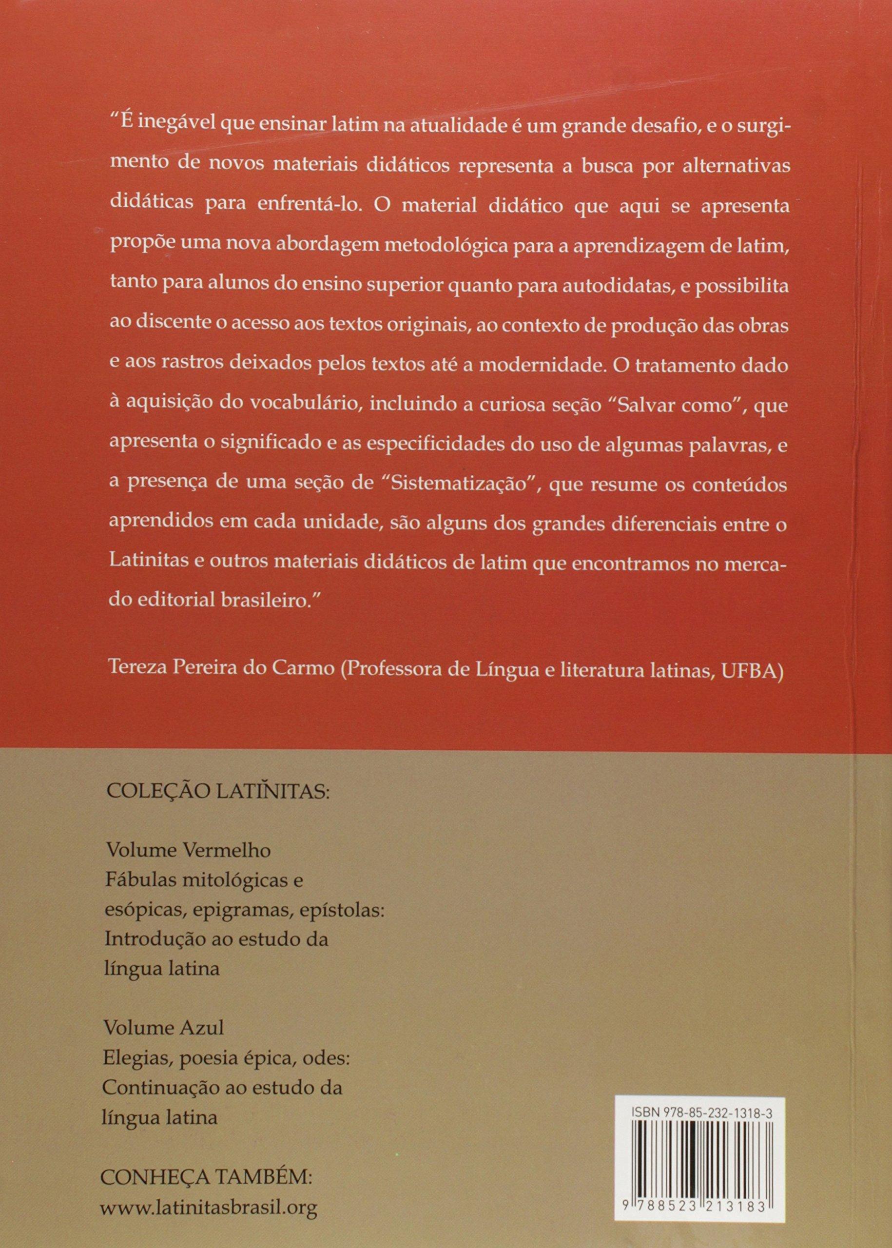 Latinitas. Leituras de Texto em Língua Latina - Volume 1: Amazon.es: José Amarante Santos Sobrinho: Libros