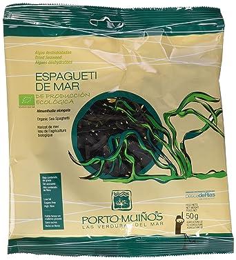 Porto Muiños Espagueti de Mar Deshidratado - 50 gr: Amazon.es ...