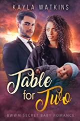 Table for Two: A BWWM Secret Baby Romance Kindle Edition