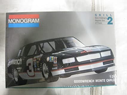Dale Earnhardts Goodwrench Monte Carlo Model Car Kit