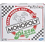 Monopoly Pizza Game - Made Fresh & Hot to Go - Family Board Games - Ages 8+
