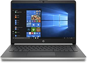 HP 14-inch Laptop, 8th Generation Intel Core i3-8130U Processor, 4 GB SDRAM, 128 GB Solid State Drive, Windows 10 Home in S Mode (14-df0020nr, Natural Silver)