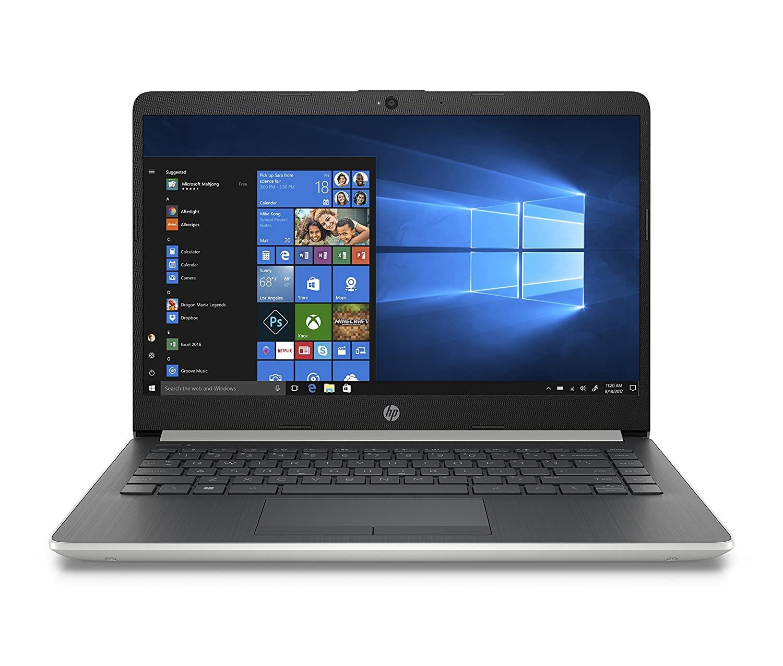 HP 14-inch Laptop, 8th Generation Intel Core i3-8130U Processor, 4 GB SDRAM, 128 GB Solid State Drive, Windows 10 Home in S Mode (14-df0020nr, ...