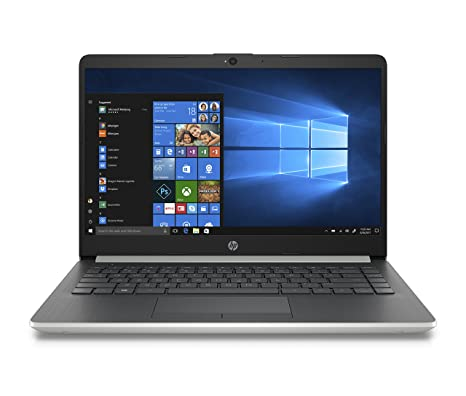 HP 14-inch Laptop, 8th Generation Intel Core i3-8130U Processor, 4 GB  SDRAM, 128 GB Solid State Drive, Windows 10 Home in S Mode (14-df0020nr,  Natural