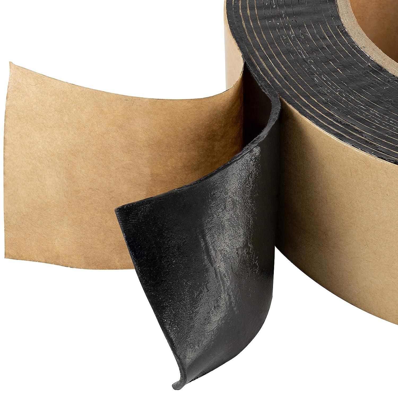 color negro Poppstar 5 m x 50 mm x 1,6 mm Cinta adhesiva de doble cara