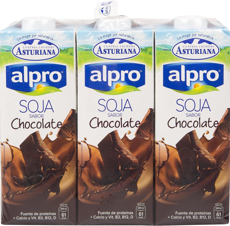 Alpro Central Lechera Asturiana Bebida de Soja Con Chocolate ...