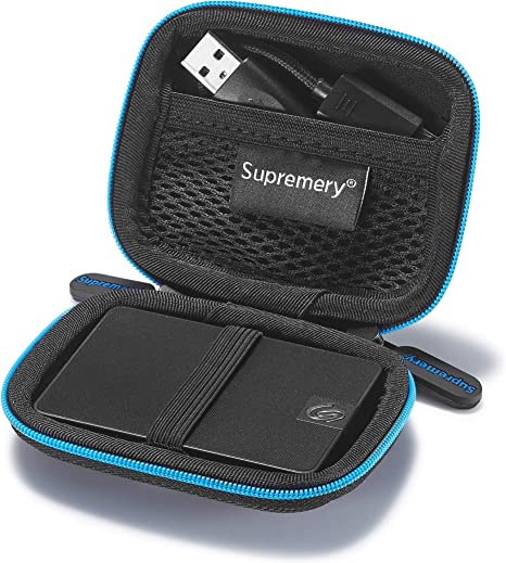 Supremery Case For Seagate Expansion Ssd Seagate One Computers Accessories