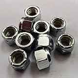 Fullerkreg 3/8-16 Nylon Insert Lock Nut,Grade