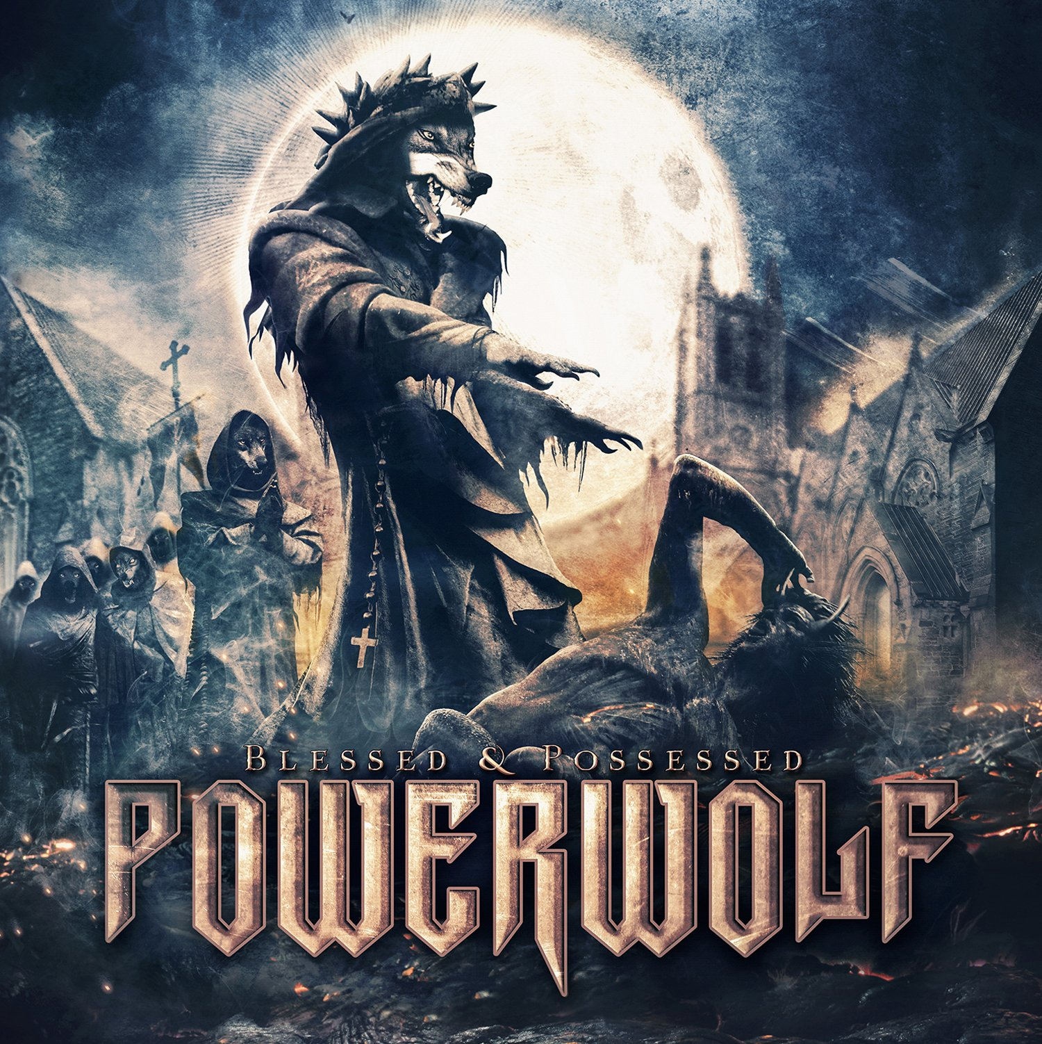 Vinilo : Powerwolf - Blessed & Possessed (LP Vinyl)