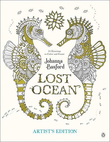 - Amazon.com: Lost Ocean Artist's Edition: An Inky Adventure And Coloring Book  For Adults: 24 Drawings To Color And Frame (9780143130758): Basford, Johanna:  Books