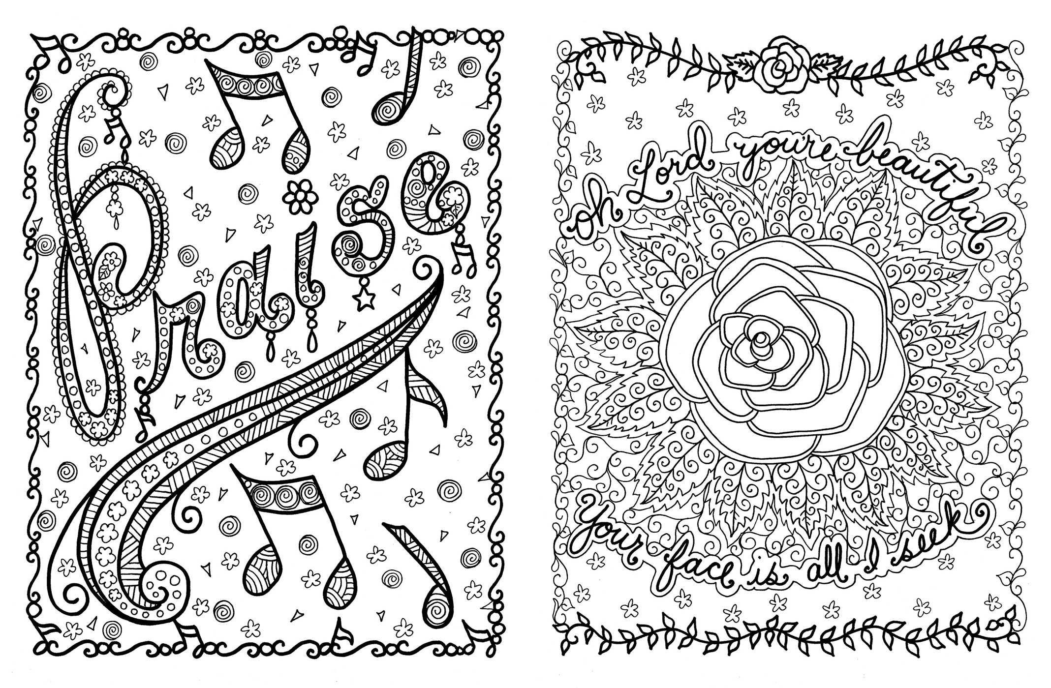 Amazon com posh adult coloring book hymnspirations for joy praise posh coloring books 0050837354845 deborah muller books