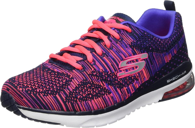 SkechersAir Infinity Wild Card - Zapatillas de Running Mujer: Amazon.es: Zapatos y complementos