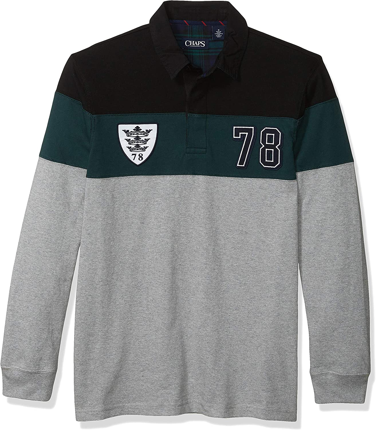Chaps Heritage Collection - Camiseta de Rugby para Hombre: Amazon ...
