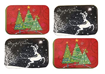 Gift card boxes for christmas/tin