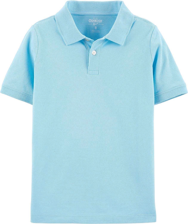 OshKosh BGosh Boys Short Sleeve Uniform Polo