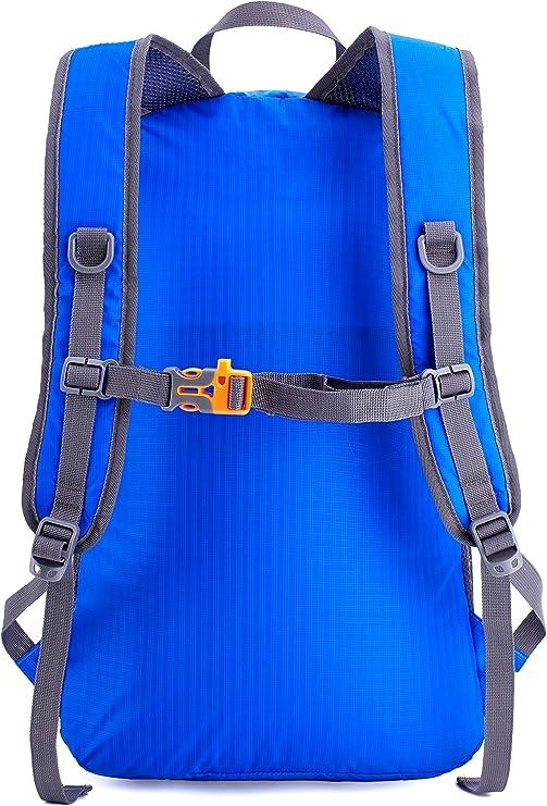 Backside of the Venture pal back pack