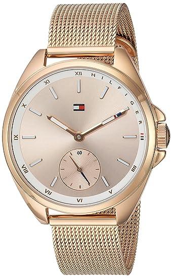 8c4d6c6b Tommy Hilfiger Women's 'SPORT' Quartz Gold Casual Watch(Model: 1781756):  Amazon.ca: Watches