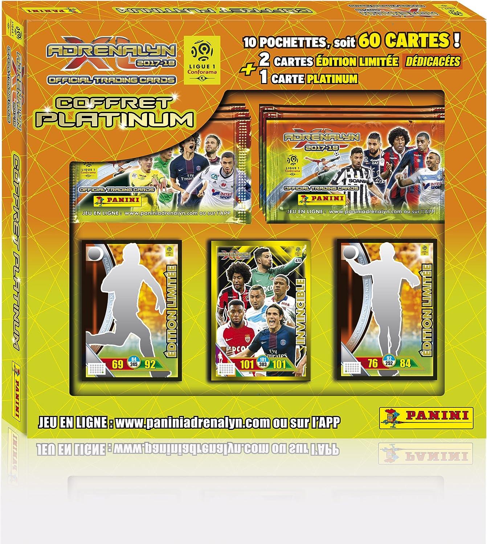 Panini 2320 – 016 Foot Adrenalyn 80897 (1 álbum + 60 Tarjetas + 2 Tarjetas éd. Limitada + 1 Tarjeta Platinium): Amazon.es: Juguetes y juegos