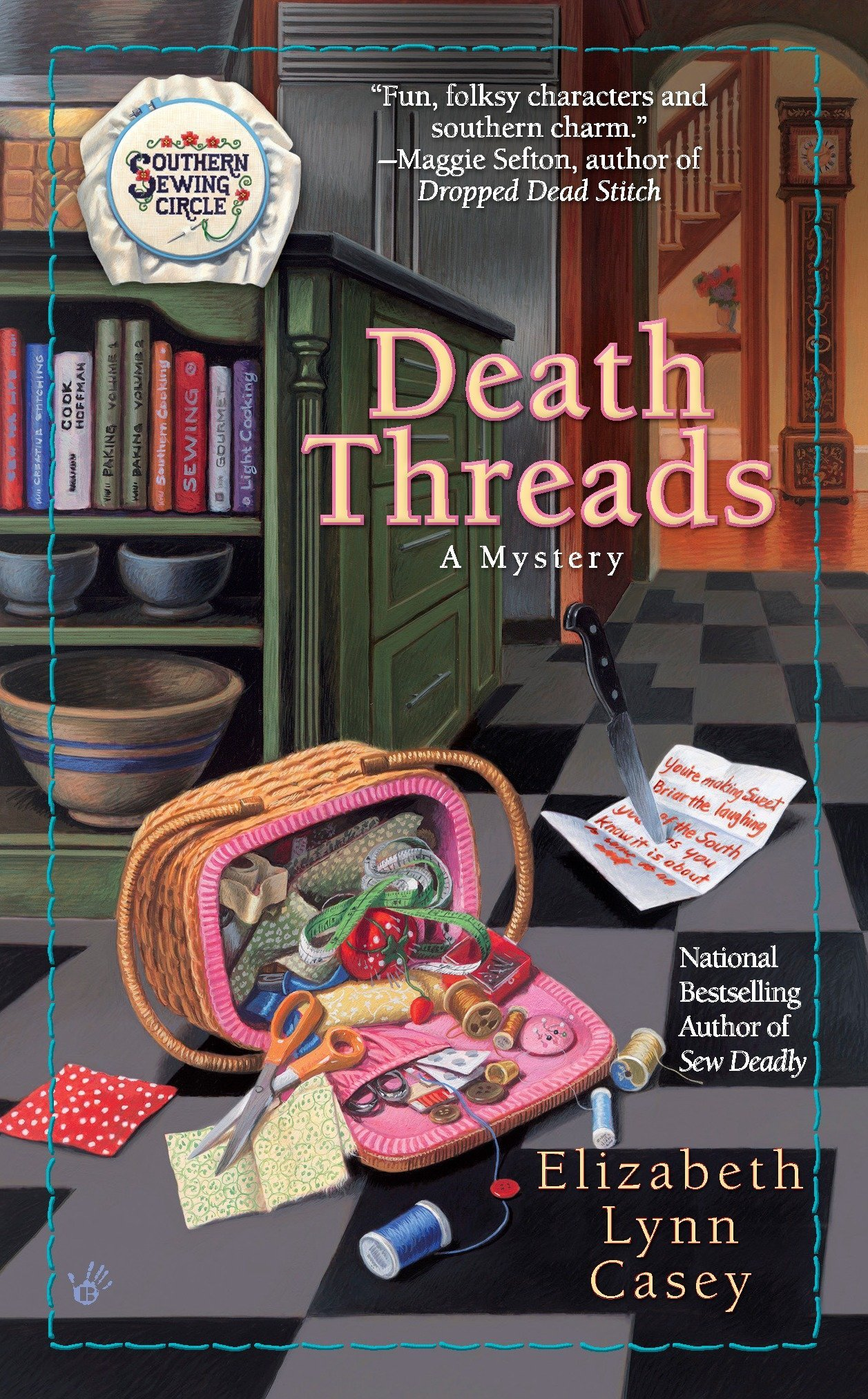 Download Death Threads (Southern Sewing Circle Mysteries) ebook