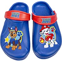Paw Patrol Toddler Molded Clog with Backstrap, Toddler Size 7 to Kids Size 12