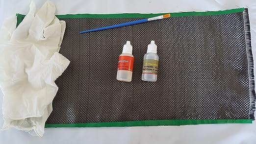 Kit REPARACION DE Fibra DE Carbono 40X20CMS. (Pala DE Padel ...