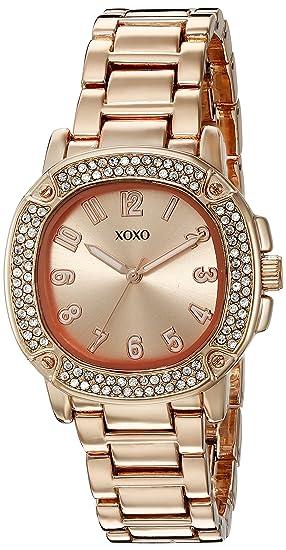 XOXO XO5911 - Reloj analógico de Cuarzo con Correa de aleación para Mujer