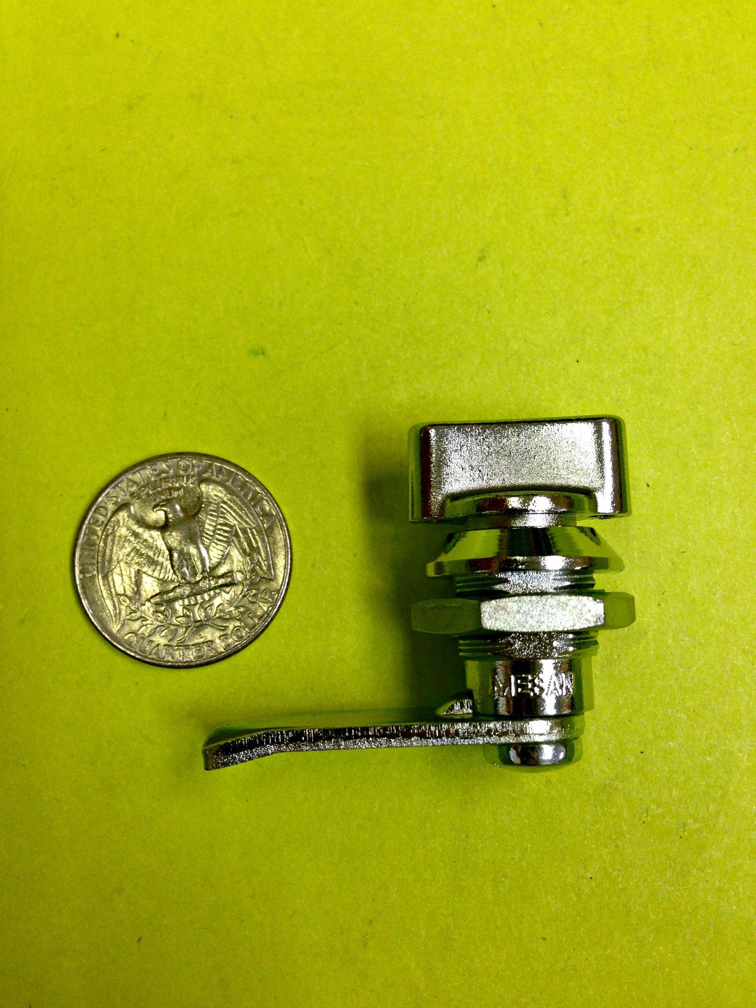 LOT OF 4 MINI CAM LOCK WING KNOB CABINET BOX DRAWER MAILBOX CUPBOARD DESK #166.1.1.10