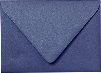 Amazon outer a 75 blueprint blue metallic euro flap envelopes outer a 75 blueprint blue metallic euro flap envelopes 5 12quot malvernweather Gallery