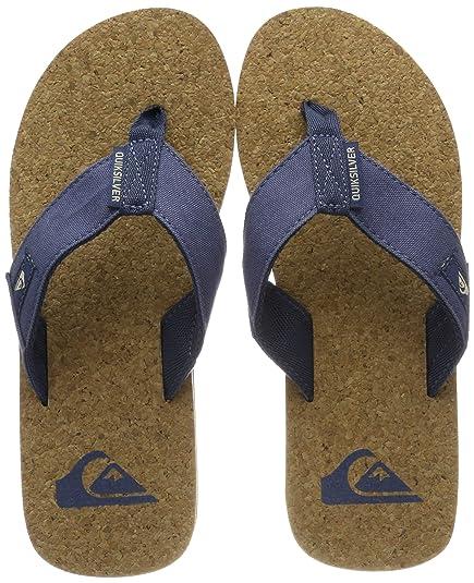 3b63da6e5c5d Quiksilver Molokai Abyss Cork-Sandals for Men Beach   Pool Shoes ...