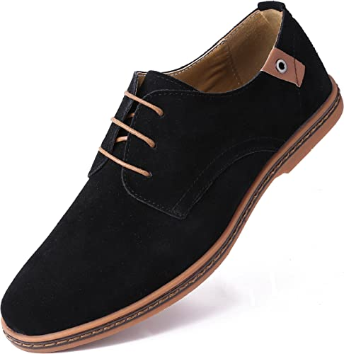 Amazon.com: Marino Suede Oxford Zapatos de vestir para ...