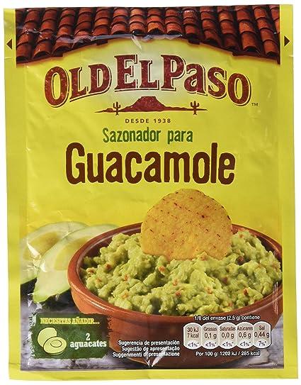 Old El Paso Sobre de Sazonador para Guacamole - 20 g